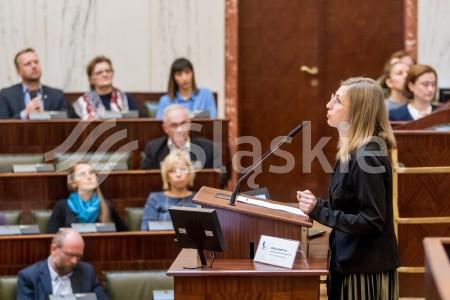 Regionalne seminarium informacyjne nt. Europejskiej Wspolpracy Terytorialnej w woj slaskim.