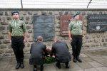 Uroczystosci Roku Henryka Slawika w Austrii. Uroczystosci w obozie Mauthausen.