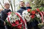 Uroczystosc z okazji 143 rocznicy urodzin Wojciecha Korfantego.