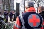 11 rocznica katastrofy budowalnej podczas Ogolnopolskiej Wystawy Golebi Pocztowych w hali na terenie Miedzynarodowych Targow Katowickich.