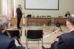 Prezentacja - Ekopatrol - Glownego Instytutu Gornictwa w Katowicach. N/z konf. prasowa