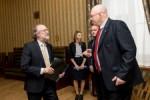 Spotkanie z Ambasadorem Krolestwa Niderlandow. Wicemarszalek Michal Gramatyka spotkal sie z Ambasadorem Ron J.P.M. van Dartel.