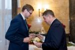 Spotkanie oplatkowe z radnymi Sejmiku i parlamentarzystami z regionu.