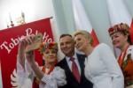 Pociag do Slaska. Slask dla Polski - spotkanie z prezydentem RP Andrzejem Duda.