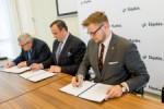 Podpisywanie umow w ramach projektu: Budowa lub modernizacja doog lokalnych (objetych PROW 2014-2020).