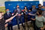 Konferencja prasowa: podsumowanie dzialan Zarzadu Woj. Slaskiego w walce koronawirusem