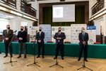 Podpisanie listu intencyjnego w sprawie utworzenia Centrum Projektowego Fraunhofera w Rybniku.