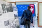 Obchody 100-lecie Powstan Slaskich - konferencja prasowa marszalka Jakuba Chelstowskiego i dyr. Instytutu Mysli Polskiej prof. Zbigniewa Wozniczki.