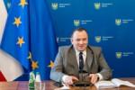 Spotkanie on-line z ministrem klimatu i srodowiska Michalem Kurtykaz (z udzialem marszalka Jakuba Chelstowskiego oraz wicemarszalka Wojciecha Kaluzy).