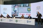 Konferencja prasowa podsumowujaca sportowe wydarzenia roku na Stadionie Slaskim