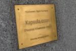 Wmurowanie kapsuly czasu w Planetarium Slaskim w Chorzowie.